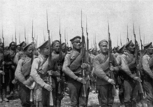 руска пешадија
